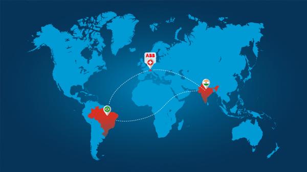 ABB Brazil + India
