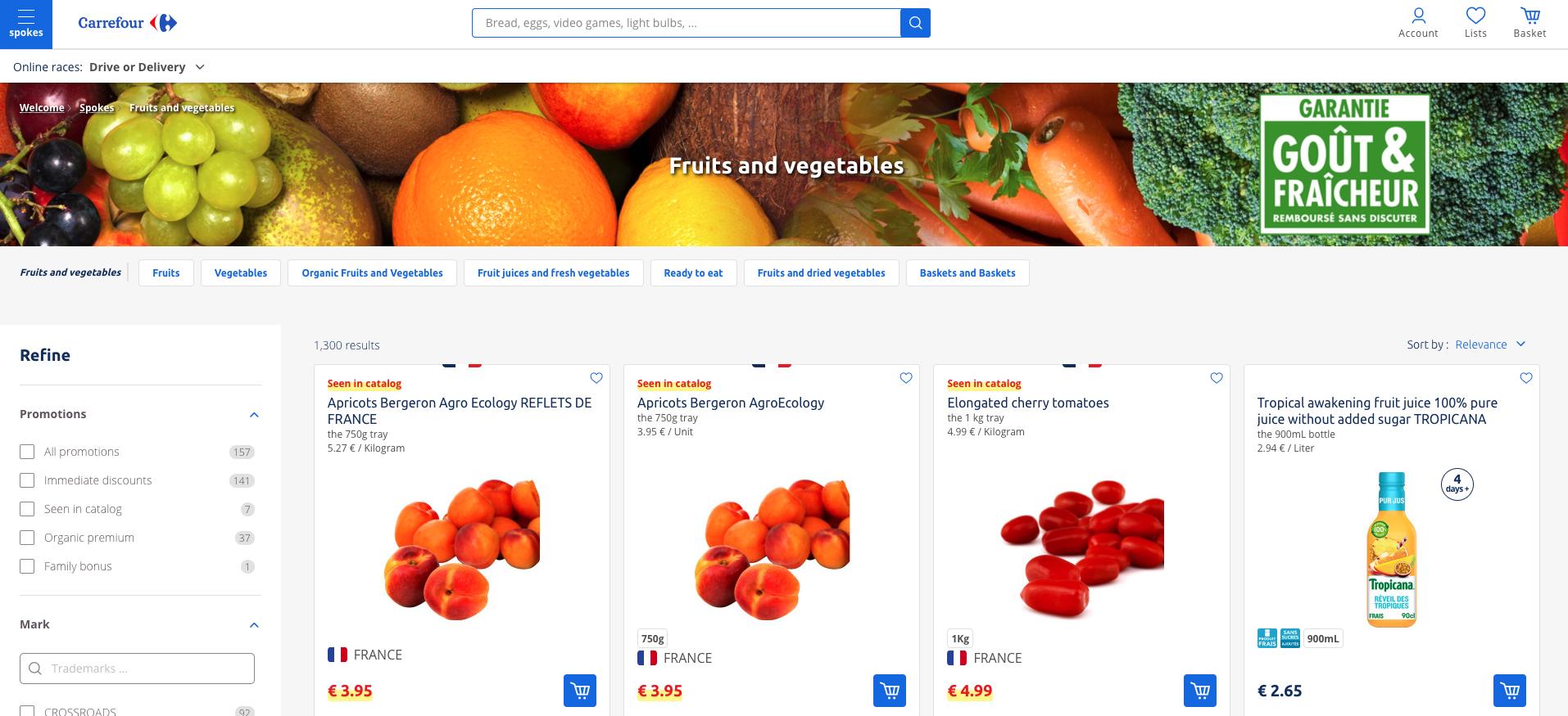 Carrefour marketplace