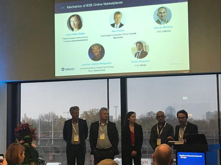 Platform Economy Summit Panel