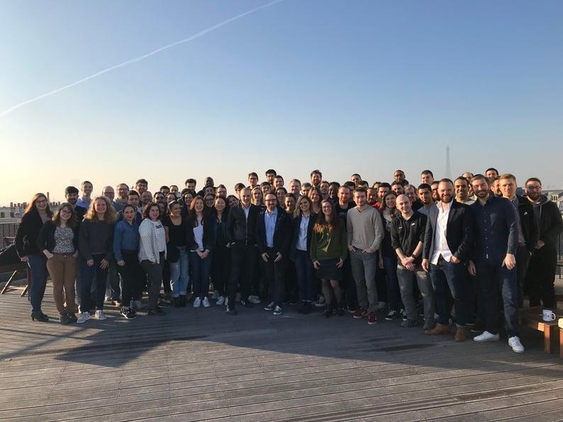 Paris Team Photo 1