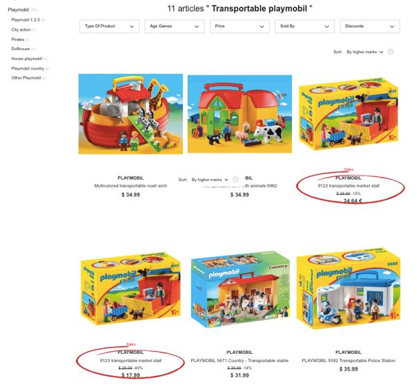 Playmobil screenshot MCM blog