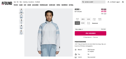 adidas product found on Afound marketplace