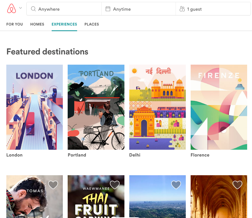 Airbnb Experiences Take Center Stage As Services ...